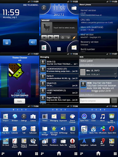 Android Costum ROM SonyStyleV10 for Xperia X10 Mini Pro (U20i)