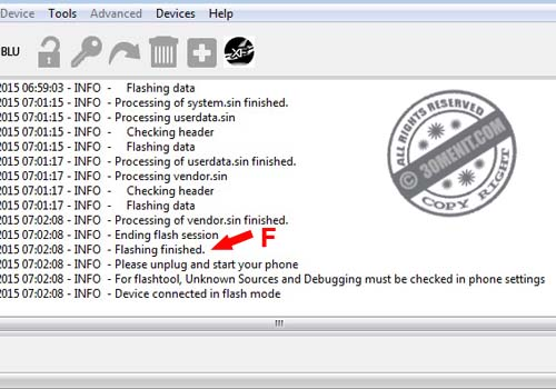 Offline Flashing Sony Dengan Flashtool | Blog 30 M3niT