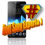 [ROOT] Sony Xperia J (ST26i)