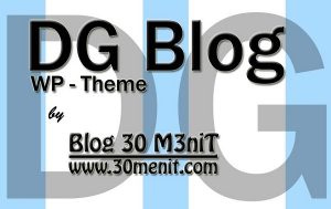 DG Blog WordPress Theme