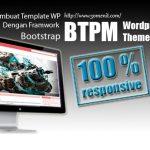 Belajar Membuat Template WordPress Dengan Framework Bootstrap Versi 4.0.0