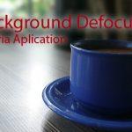 Kamera HP Rasa DSLR dengan Background Defocus