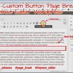 Membuat Atau Menambahkan Custom Button Pada Tinymce Editor WordPress